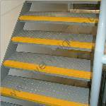 Anti-Slip Step Nosing Yellow 30mm High x 70mm Deep x 1000mm Long image