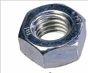 Steel Nuts HEX Full M2 - M36 BZP image